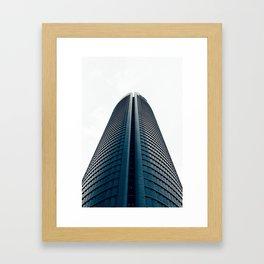 Skyscraper in Madrid Framed Art Print