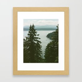 Galiano Framed Art Print