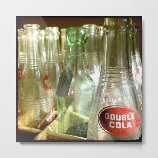 Double Cola TTV Metal Print