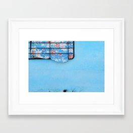 38. Trouble Blue, Cuba Framed Art Print