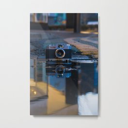 35 mm Camera Art Metal Print