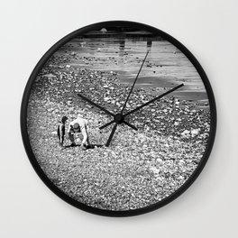 Treasure hunting Wall Clock