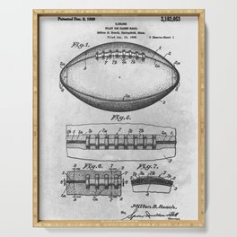 1938 Football Serving Tray