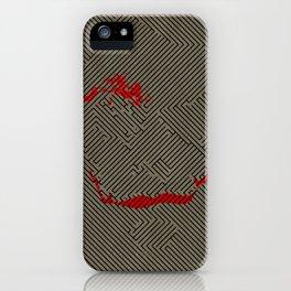 Jokers way iPhone Case