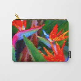 Bird of Paradise Family Abstract Carry-All Pouch