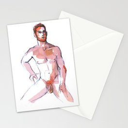 PATCH, Nude Male by Frank-Joseph Stationery Cards