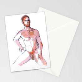 PATCH, Nude Male by Frank-Joseph Stationery Cards