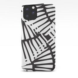 Basketweave-Ink iPhone Case