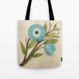 Botanica Blue Tote Bag