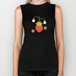 Fruit: Strawberry Biker Tank