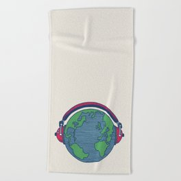 World Music Beach Towel