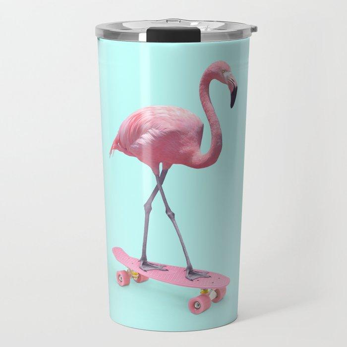SKATE FLAMINGO Travel Mug
