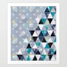 Abstract geometric pattern.5 Art Print