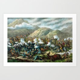 Little Bighorn - Custer's Last Stand Art Print