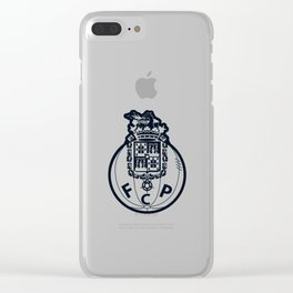 FC Porto Blue crest Clear iPhone Case