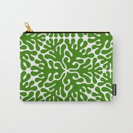 Seaweed Hexagon (Green) Carry-All Pouch