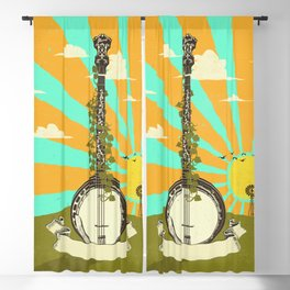 BANJO SUNRISE Blackout Curtain