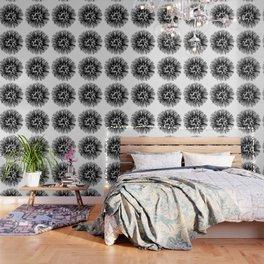 Make A Wish Dandelion Vector In Black Wallpaper