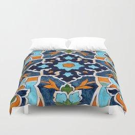 Mediterranean tile Duvet Cover