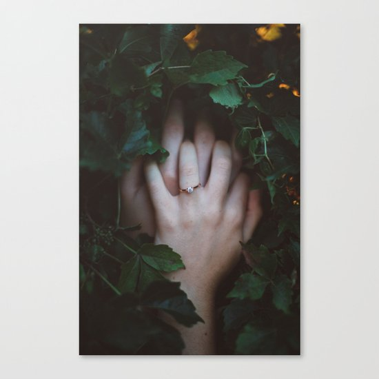 Hands Nature Canvas Print