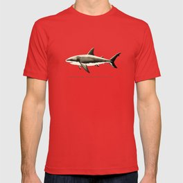 Pattern: Great White Shark ~ Vintage ~ (Copyright 2015) T-shirt