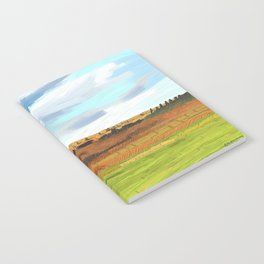 Farming Plain Notebook