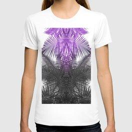 purple gray fern T-shirt