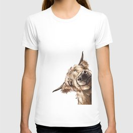 Sneaky Highland Cow T-shirt