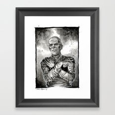 The MUMMY Framed Art Print