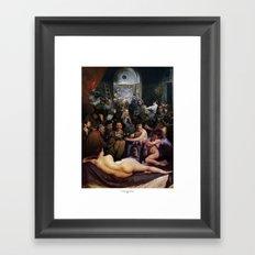 L'invidia Degli Uomini Framed Art Print