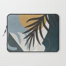 Abstract Tropical Art II Laptop Sleeve