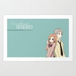 Secondhand Memories Original Art Print