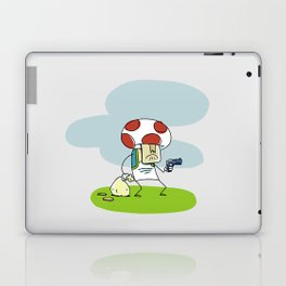 Troubled Times in Mario World Laptop & iPad Skin