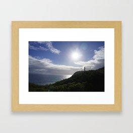Lighthouse Cape Schank,Mornington Peninsula ,Melbourne ,Victoria,Australia Framed Art Print