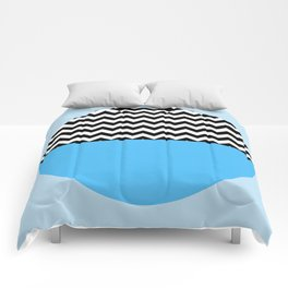 Moiety Blue Comforters