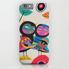 Owls hugging iPhone 6s Slim Case