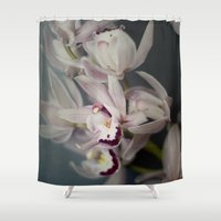 orchid Shower Curtains featuring Orchid by Pure Nature Photos