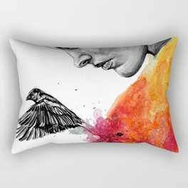 Goodbye depression Rectangular Pillow