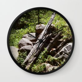 Pointing in the Right Direction Wall Clock