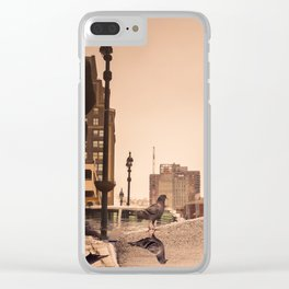 wOrLd iN fLuX Clear iPhone Case