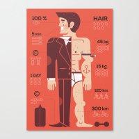 men Canvas Prints featuring Men ... by Adam Quest