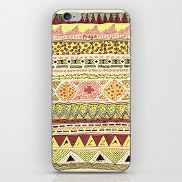 Pizza Pattern iPhone Skin