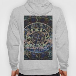 Zodiac Mystery Clock Hoody