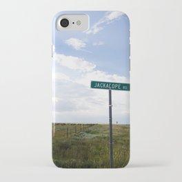 Jackalope Rd. iPhone Case