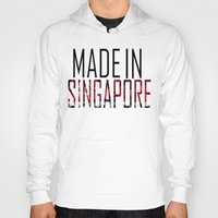 singapore Hoodies featuring Made In Singapore by VirgoSpice