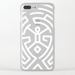 Westworld Maze Clear iPhone Case