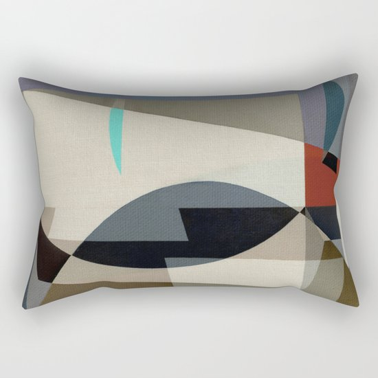 Deep-Sea Fishing Rectangular Pillow