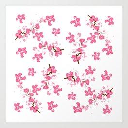 Spring. blooming trees Art Print
