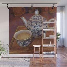 Tea in Tokyo Wall Mural