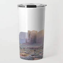 Monument Valley at Sunset Travel Mug